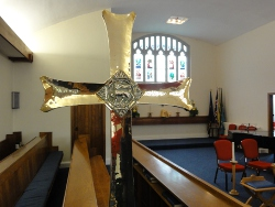 A view from inside All Saints, Rhiwbina