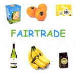 Some of the many Fairtrade products.