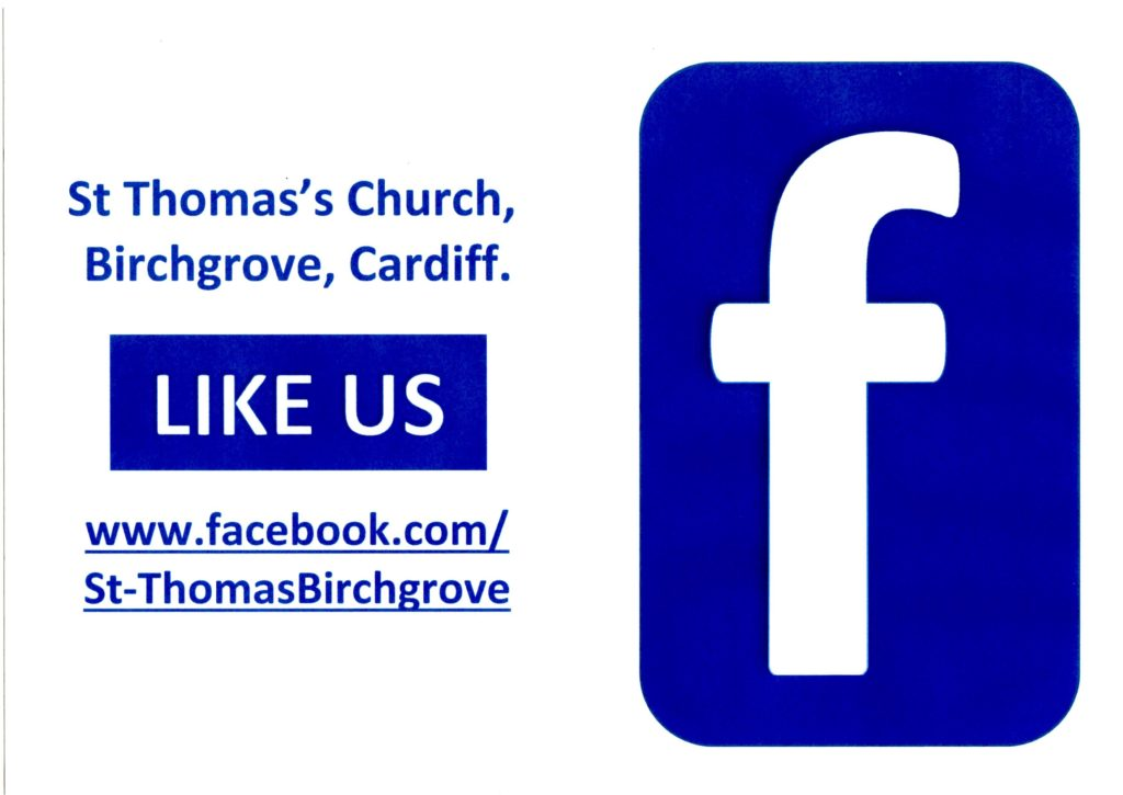 St Thomas's FaceBook poster
